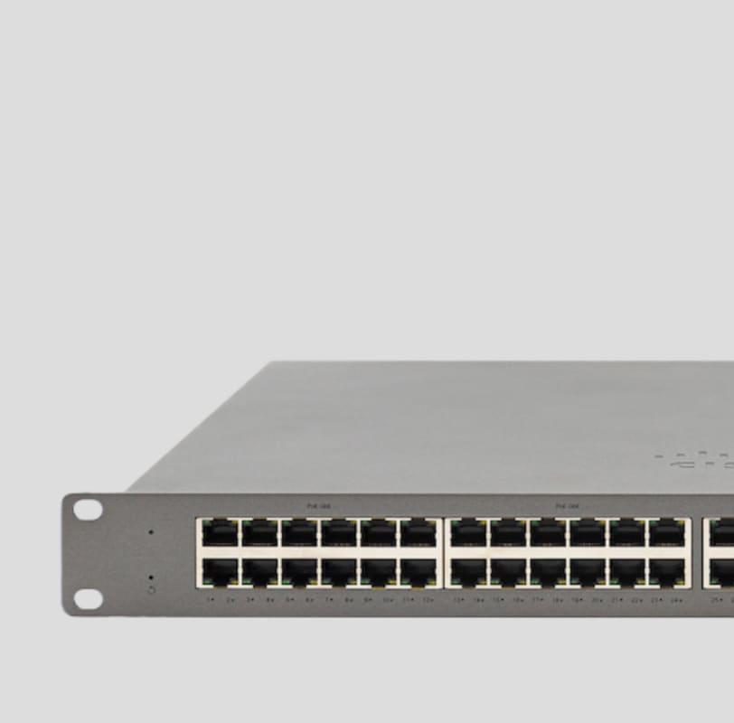 Meraki Go 48 Port Network Switch