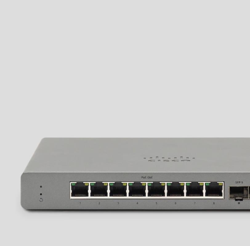 Meraki Go 8 Port Network Switch